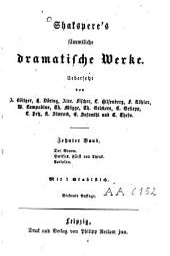 Shakspere's saemmtliche dramatische Werke: Band 4