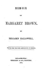 Memoir of Margaret Brown