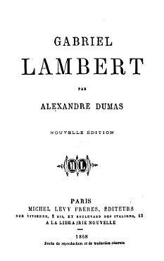 Gabriel Lambert PDF