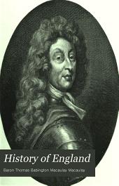 History of England: Volume 7