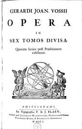 Opera in sex tomos divisa ...