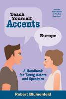 Teach Yourself Accents  Europe PDF