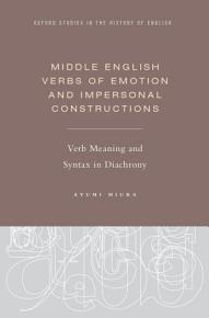 Middle English Verbs of Emotion and Impersonal Constructions PDF