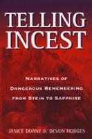 Telling Incest PDF