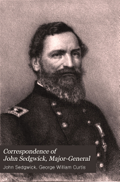 Correspondence of John Sedgwick, Major-General: Volume 2