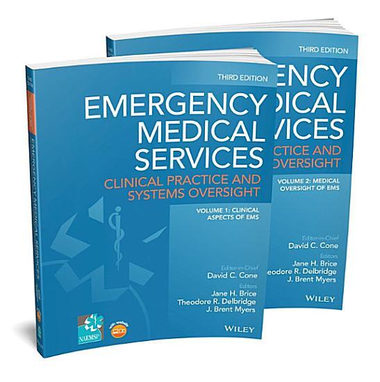 Emergency Medical Services  2 Volume Set PDF