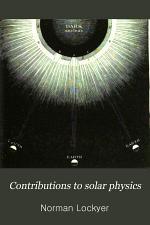 Contribution to Solar Physics