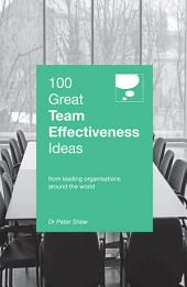 100 Great Team Effectiveness Ideas