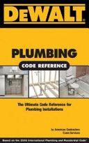 Dewalt Plumbing Code Reference Book PDF