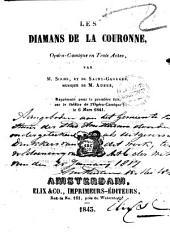 Les diamants de la couronne: opéra-comique en trois actes