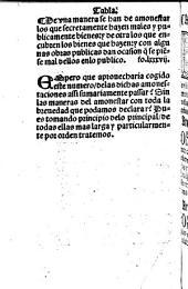 Treynta y seys Amonestaciones del Pastoral ... traduzidas d'latin en romāce. G.L.