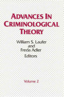 Advances in Criminological Theory PDF