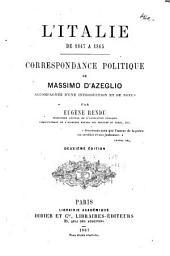 L'Italie de 1847-1865