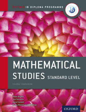 Oxford IB Diploma Programme  Mathematical Studies Standard Level Course Companion PDF