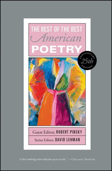 Download The Best of the Best American Poetry Book