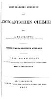 Ausf  hrliches Lehrbuch der anorganischen chemie PDF