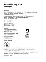 Fire and Life Safety for the Handicapped PDF