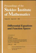 Differential Equations and Function Spaces