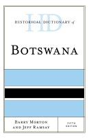 Historical Dictionary of Botswana PDF