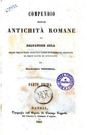Compendio delle antichità romane di Salvatore Aula: 1