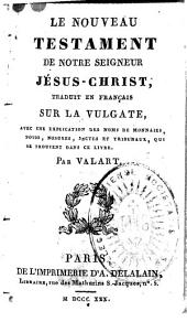 Le Nouveau Testament de Notre Seigneur Jésus-Christ