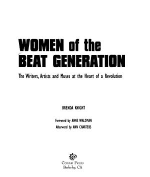 Women of the Beat Generation PDF