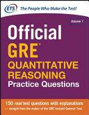Official GRE Quantitative Reasoning Practice Questions Book