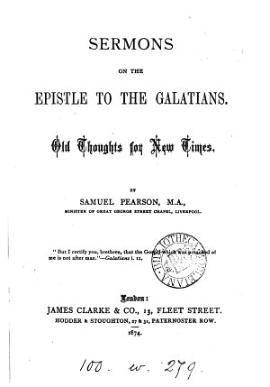 Sermons on the Epistle to the Galatians PDF
