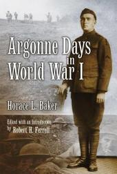 Argonne Days in World War I