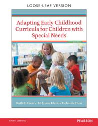 Adapting Early Childhood Curricula For Children With Special Needs Book PDF