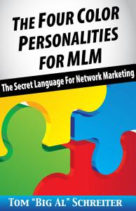 The Four Color Personalities For MLM Book