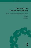 The Works of Thomas De Quincey  Part II vol 10 PDF