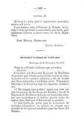 Boletín de las leyes i de las ordenes i decretos del gobierno: Parte 2
