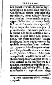 V. cl. Marci Zuerii Boxhornii Epistolae & poemata..