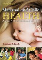 Maternal and Child Health PDF