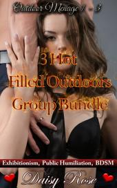 "3 Hot Filled Outdoors Group Bundle: Books 1 - 3 of ""Outdoor Menage"""
