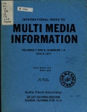 International Index to Multi media Information PDF