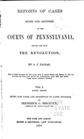 Reports of Cases ... 1754-1845: Volumes 1-2