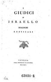 I giudici d'Israello (e Rut). Dialoghi rusticali