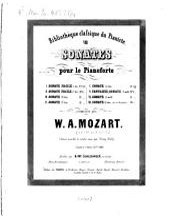 8 Sonates pour le piano: Volume 7