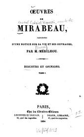 Oeuvres: Volumes1à1834