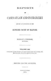 Reports of Cases at Law and in Chancery Argued and Determined in the Supreme Court of Illinois: Volume 146