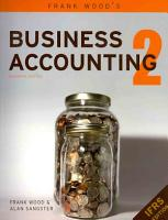 Frank Wood s Business Accounting PDF