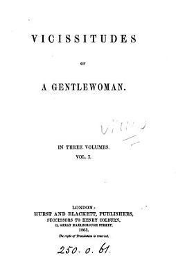 Vicissitudes of a gentlewoman PDF