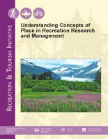 Understanding Concepts of Place in Recreation Research and Management  Proceedings  2004  PDF