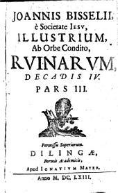Illustres, Ab Orbe Condito Ruinae: Volumes 3-4