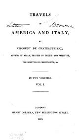 Travels in America and Italy: Volume 1