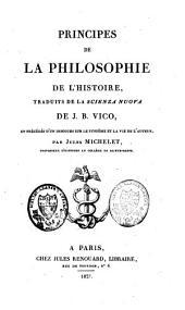 Principes de la philosophie de l'histoire