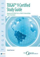 TOGAF   9 Certified Study Guide   2nd Edition PDF