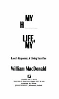 My Heart  My Life  My All PDF